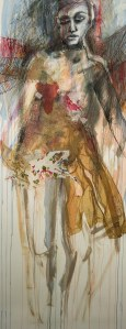 st. sebastion's wife  150 x 90